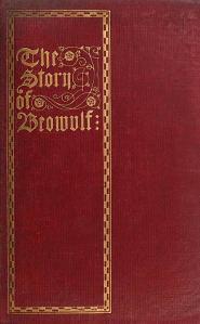 The cover for J.B. Kirtlan's 1913 translation of Beowulf.