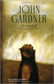 The cover for the 1989 edition of John Gardner's Beowulf-inspired Grendel.