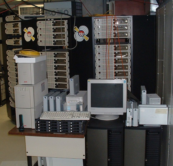 A Beowulf cluster supercomputer at McGill  University