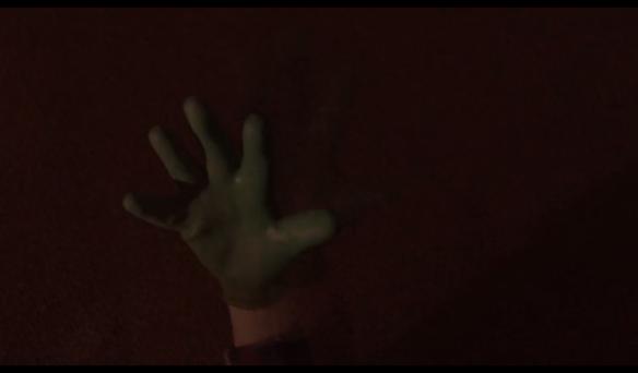 Freddie's Beowulf-like gardening gloved hand, Killer BOB Killer in Twin Peaks.