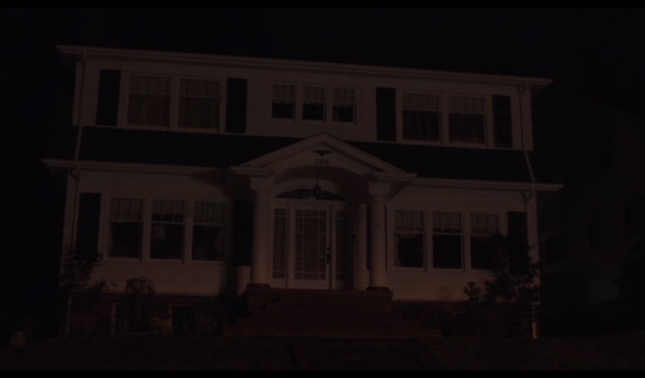 Twin Peaks' Palmer house has its lights go out, like Beowulf's punching Grendel's lights out.