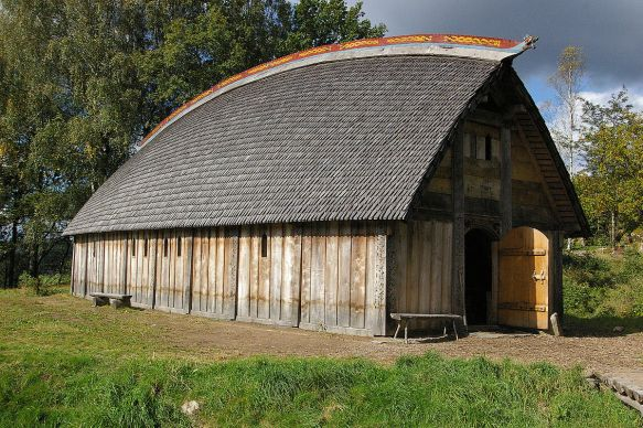 An ale house like a mead hall from Beowulf that's in Sweden.